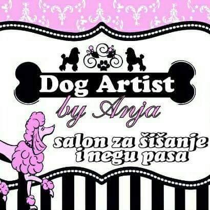 Dog Artist by Anja